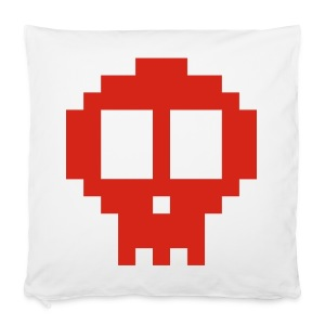 Pixel art skull - Pillowcase 40 x 40 cm