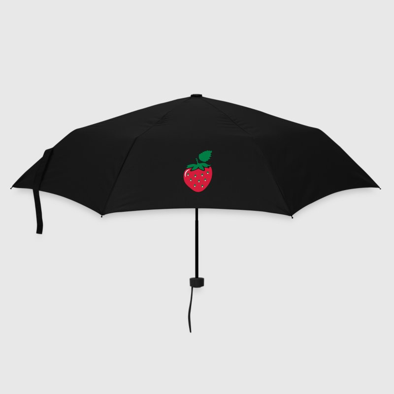 Lilac Strawberry Umbrellas - Umbrella (small)
