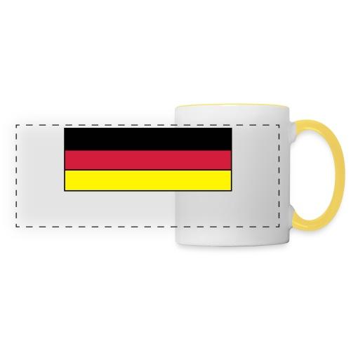 Deutschland Button - Panoramatasse