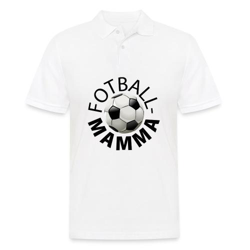 Fotballmamma - Poloskjorte for menn