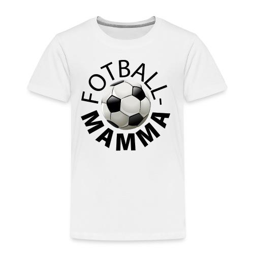 Fotballmamma - Premium T-skjorte for barn