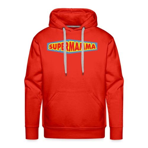 Supermamma - Premium hettegenser for menn