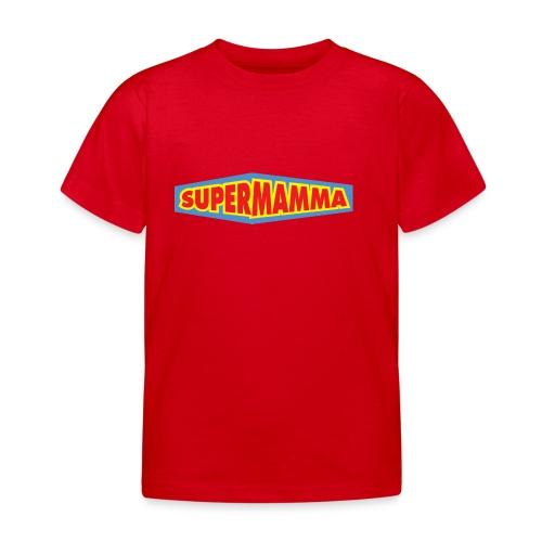 Supermamma - T-skjorte for barn