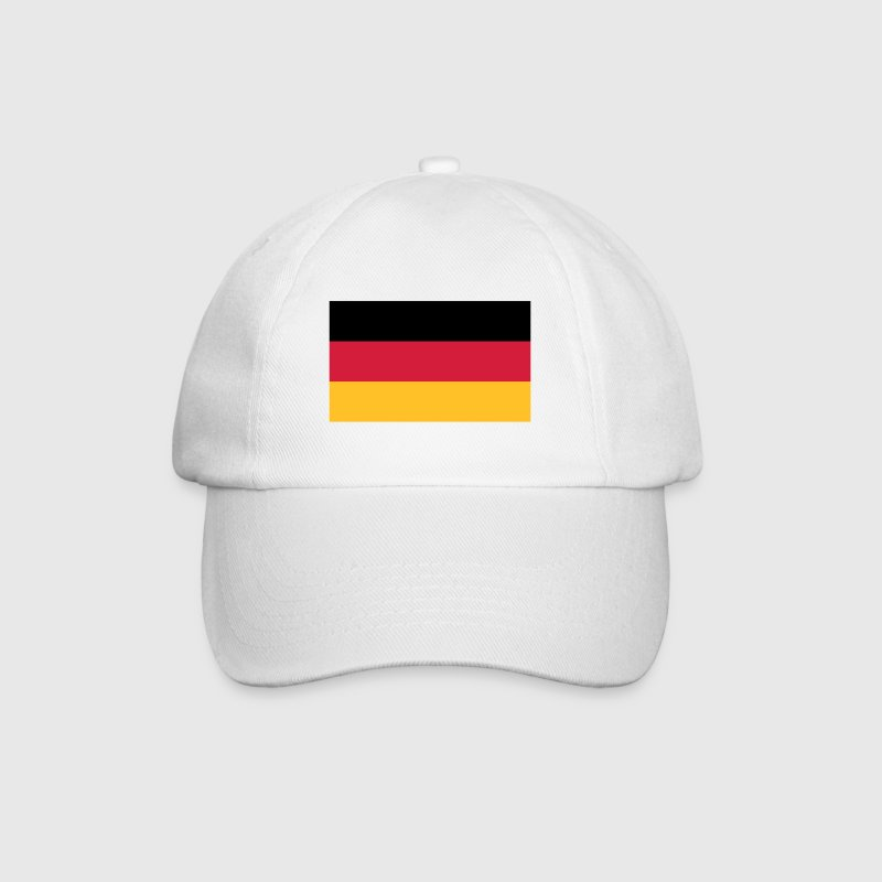 White/white Flag Germany 2 (3c) Caps & Hats - Baseball Cap