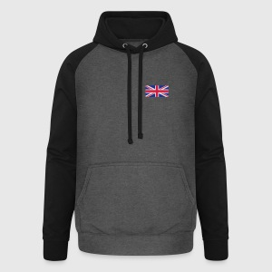 National flag of Great Britain Polo Shirts - Unisex Baseball Hoodie