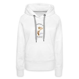 ANGEL manneken pis - Sweat-shirt à capuche Premium pour femmes