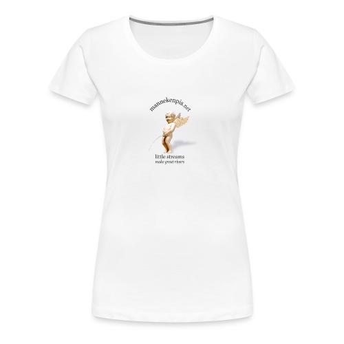 ANGEL manneken pis - T-shirt Premium Femme