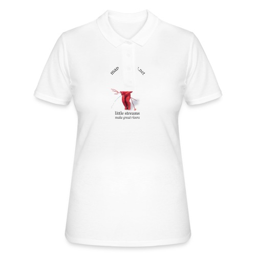DIABLES ROUGES mannekenpis |♀♂ - Women's Polo Shirt