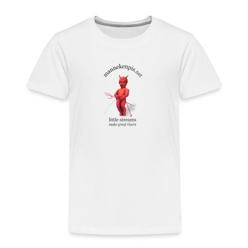 DIABLES ROUGES mannekenpis |♀♂ - T-shirt Premium Enfant