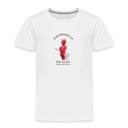 DIABLES ROUGES mannekenpis  ♀♂ - T-shirt Premium Enfant