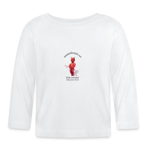 DIABLES ROUGES mannekenpis |♀♂ - T-shirt manches longues Bébé