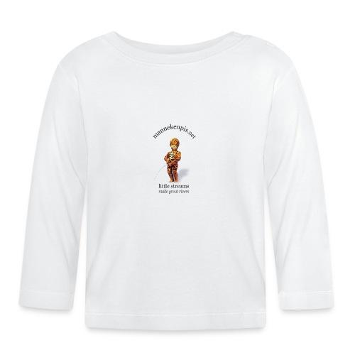 LEOPARD mannekenpis |♀♂ - T-shirt manches longues Bébé