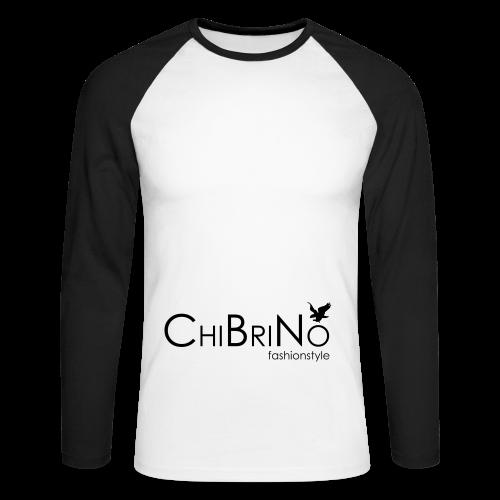ChiBriNo - Retrotrasche - Männer Baseballshirt langarm