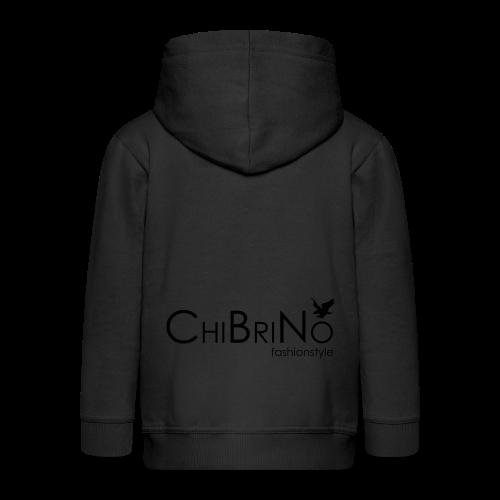 ChiBriNo - Retrotrasche - Kinder Premium Kapuzenjacke