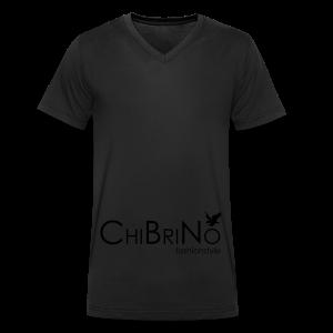 ChiBriNo - Retrotrasche - Männer Bio-T-Shirt mit V-Ausschnitt von Stanley & Stella