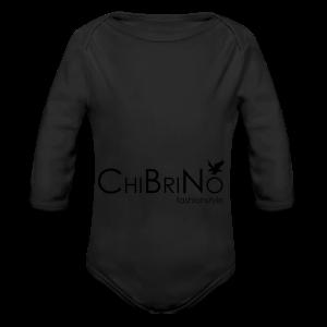 ChiBriNo - Retrotrasche - Baby Bio-Langarm-Body