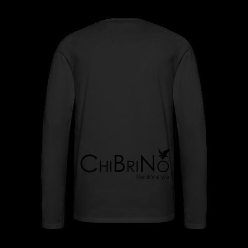 ChiBriNo - Retrotrasche - Männer Premium Langarmshirt