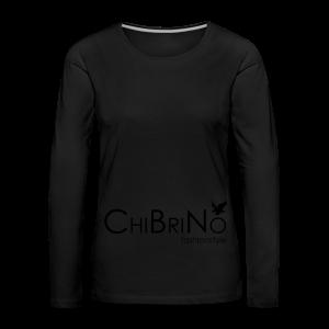 ChiBriNo - Retrotrasche - Frauen Premium Langarmshirt