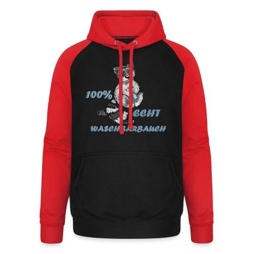 Waschbärbauch ^^ - Unisex Baseball Hoodie