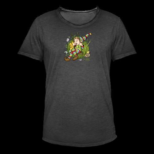 Schaukelnder Wicht - Männer Vintage T-Shirt