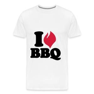 I love BBQ Romper - Mannen Premium T-shirt