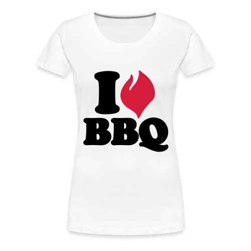 I love BBQ Romper - Vrouwen Premium T-shirt