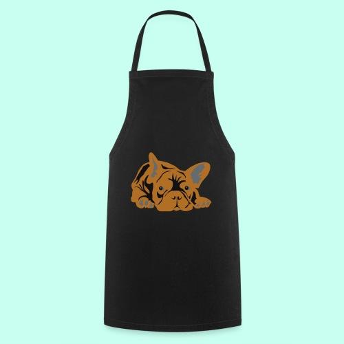 Französische Bulldogge - Kochschürze