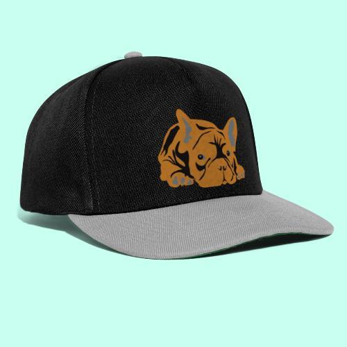 Französische Bulldogge - Snapback Cap