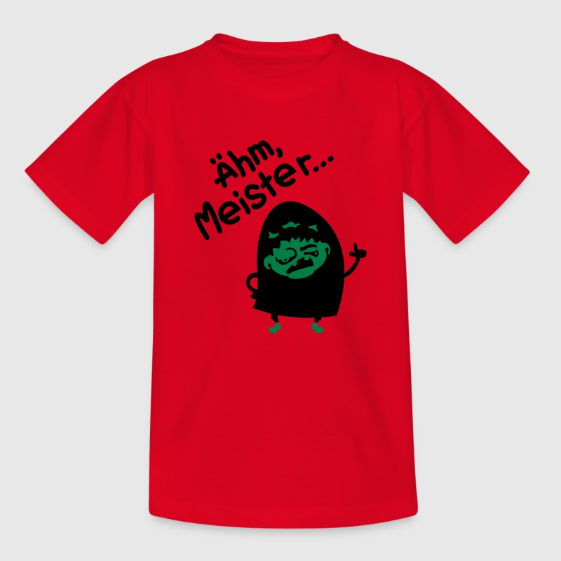 Rot Igor - Ähm, Meister... Kinder T-Shirts - Teenager T-Shirt