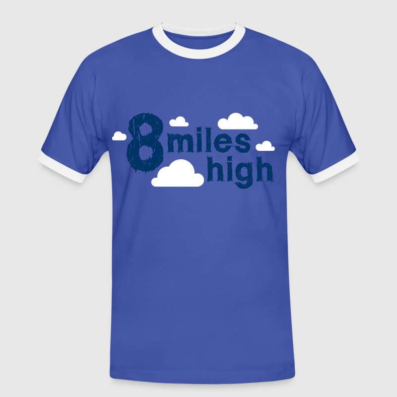 8 Miles High - T-shirt contraste Homme