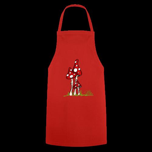 Muchotravky - Fliegenpilze (freche Farben) - Kochschürze