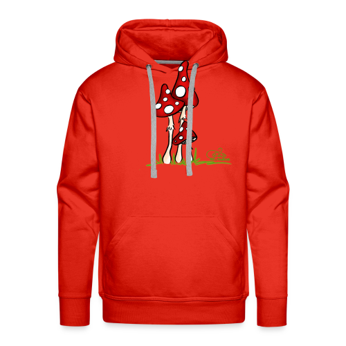 Muchotravky - Fliegenpilze (freche Farben) - Männer Premium Hoodie