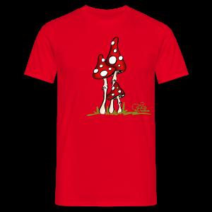 Muchotravky - Fliegenpilze (freche Farben) - Männer T-Shirt