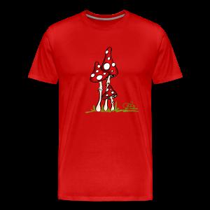 Muchotravky - Fliegenpilze (freche Farben) - Männer Premium T-Shirt
