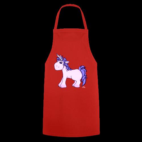 Ennea Einhorn (freche Farben) - Kochschürze