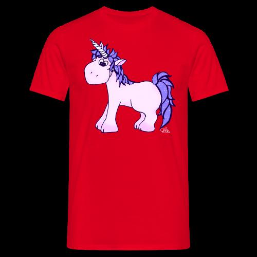 Ennea Einhorn (freche Farben) - Männer T-Shirt