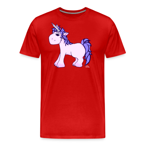 Ennea Einhorn (freche Farben) - Männer Premium T-Shirt