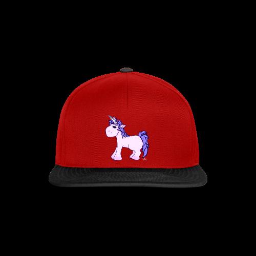 Ennea Einhorn (freche Farben) - Snapback Cap
