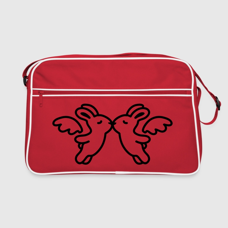 Bunny - Angel - Kiss - Ligne - Sac Retro