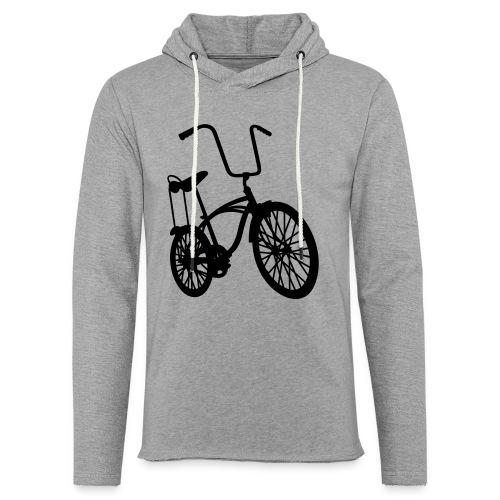 Bicicross Red - Felpa con cappuccio leggera unisex