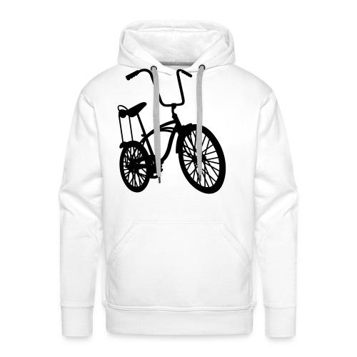 Bicicross Red - Felpa con cappuccio premium da uomo