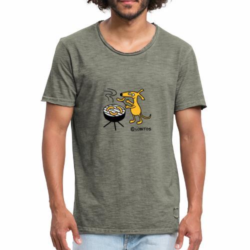 Grillgo - Männer Vintage T-Shirt
