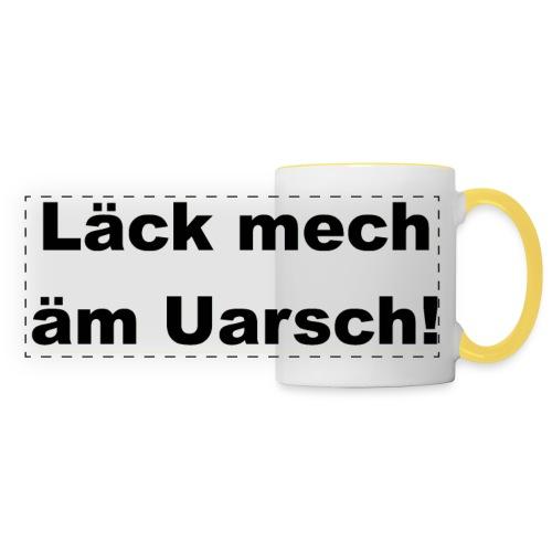 Shirt Läck mech äm Uarsch - Leck mich am Arsch - Panoramatasse
