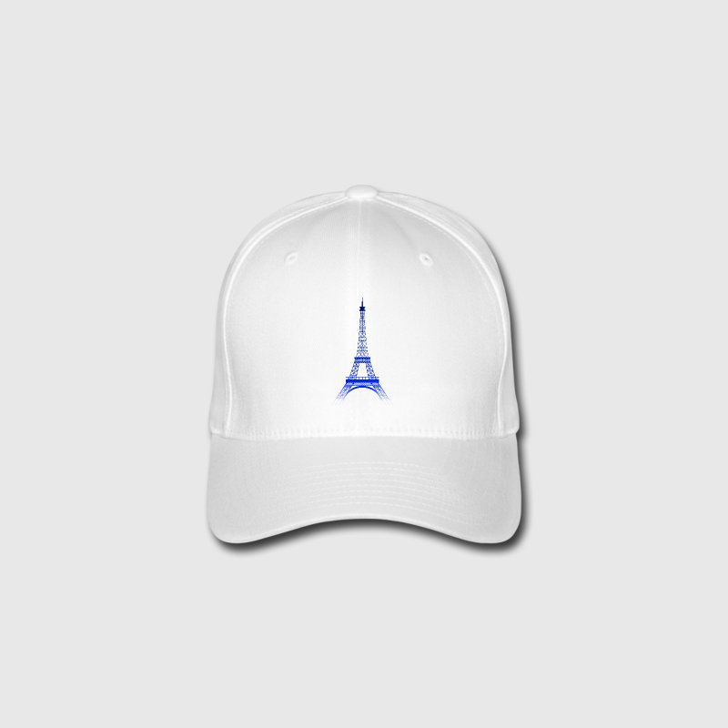 Eiffel Tower (blue gradient king) - Flexfit Baseball Cap