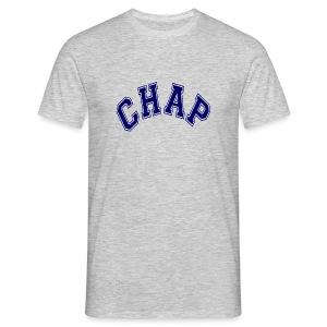 Adult 'CHAP' Logo T (Ash) - Men's T-Shirt