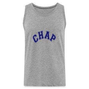 Adult 'CHAP' Logo T (Ash) - Men's Premium Tank Top