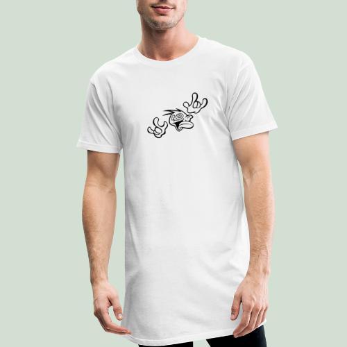 Verrückt nach Dir! - Männer Urban Longshirt