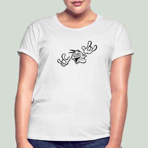 Verrückt nach Dir! - Frauen Oversize T-Shirt