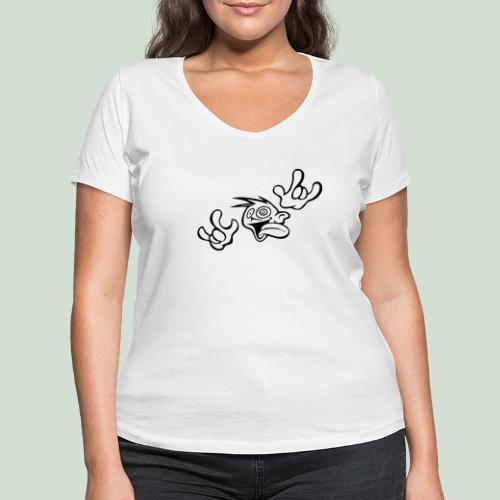 Verrückt nach Dir! - Frauen Bio-T-Shirt mit V-Ausschnitt von Stanley & Stella