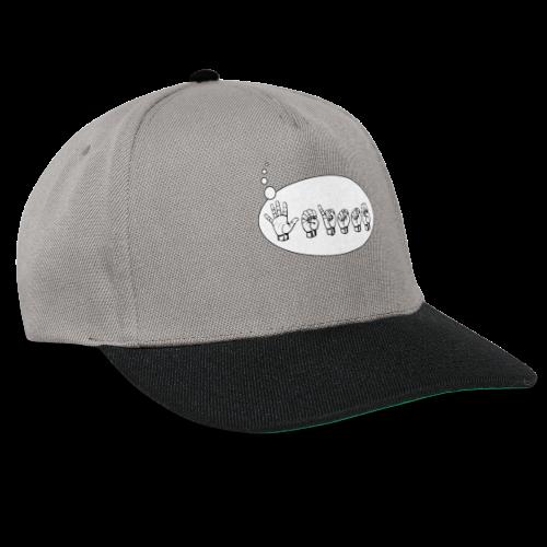 Fingeralphabet (sch...) - Snapback Cap
